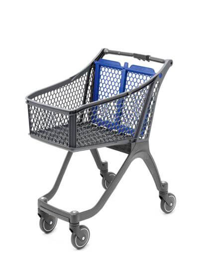 Small Shallow Plastic Trolley