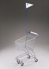 25 Litre Childrens Shopping Trolley with Flag