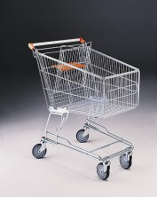 140 Litre Shopping Trolley & Baby Carrier & 125mm diameter castors