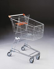 100 Litre Shopping Trolley & Baby Carrier & 100mm diameter castors