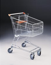 120 Litre Shopping Trolley & Baby Carrier & 125mm diameter castors