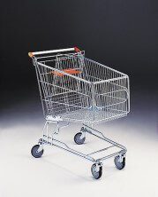 180 Litre Shopping Trolley & Baby Carrier & 125mm diameter castors