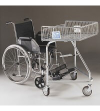 62 Litre Disabled Trolley for use with a wheelchair