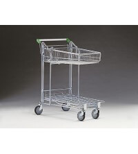 DIY/Garden Centre Flatbed Trolley with 55 Litre basket